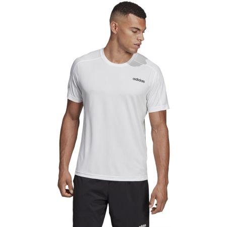 Men's T-shirt - adidas D2M TEE - 4