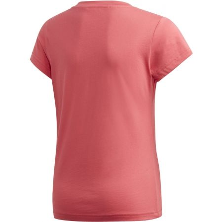 Koszulka dziecięca - adidas YB E LIN TEE - 2