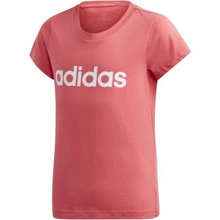 Koszulka dziecięca - adidas YB E LIN TEE - 1