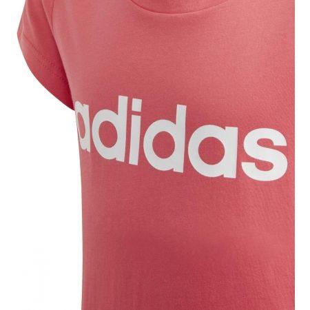 Koszulka dziecięca - adidas YB E LIN TEE - 3