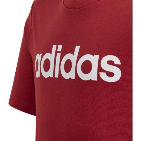 Detské tričko - adidas YB E LIN TEE - 3