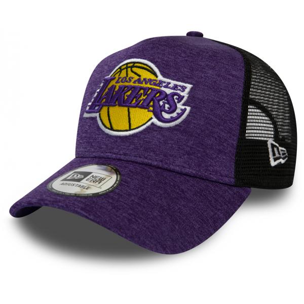 New Era 9FORTY AF TRUCKER NBA SHADOW TECH LOS ANGELES LAKERS - Pánska klubová šiltovka