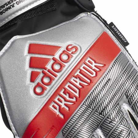 Kids' goalkeeper gloves - adidas PREDATOR TOP TRAINING FINGERSAVE JUNIOR - 3