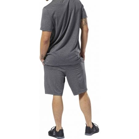 Men's sports shorts - Reebok WORKOUT READY KNIT SHORT PERFORMANCE - 5