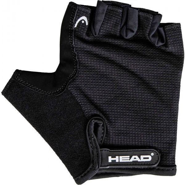 Head GLOVE černá L - Pánské cyklistické rukavice