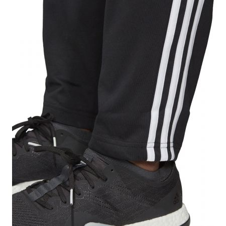 adidas herren essentials 3-stripes tapered cuffed fleece hose herren