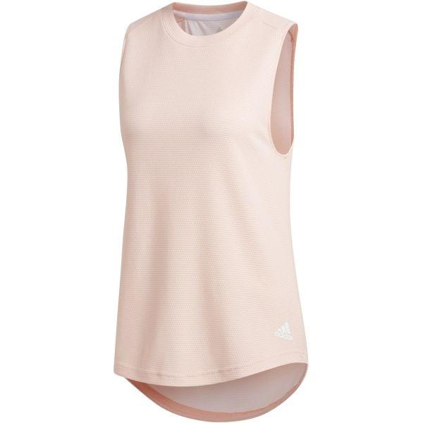 adidas PERF TANK růžová XS - Dámské triko bez rukávů