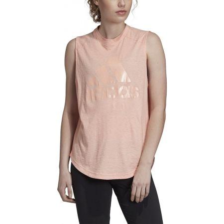 Дамска тениска без ръкави - adidas ID WINNERS MT - 3