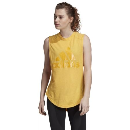 Dámske tričko bez rukávov - adidas ID WINNERS MT - 4