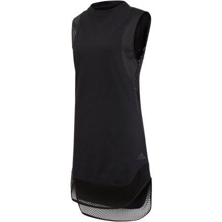 Дамска тениска без ръкави - adidas ID LONG M TEE - 1