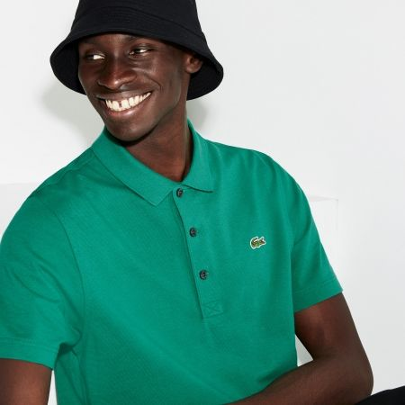 Men's polo shirt - Lacoste MAN SHORT SLEEVES BEST POLO - 5