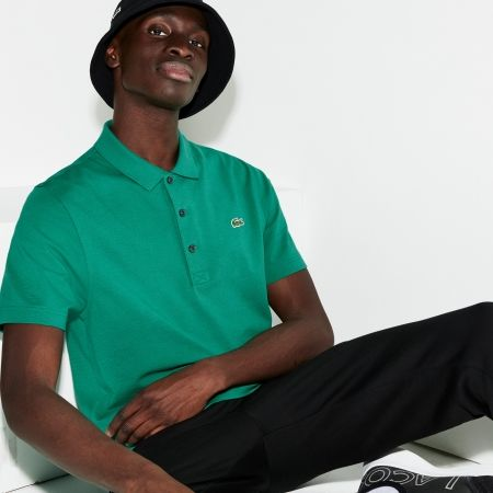 Men's polo shirt - Lacoste MAN SHORT SLEEVES BEST POLO - 6