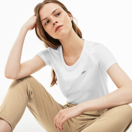 Women's T-shirt - Lacoste WOMAN T-SHIRT - 3