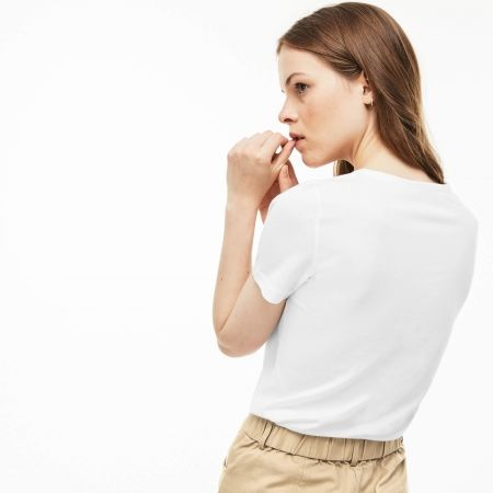 Women's T-shirt - Lacoste WOMAN T-SHIRT - 4