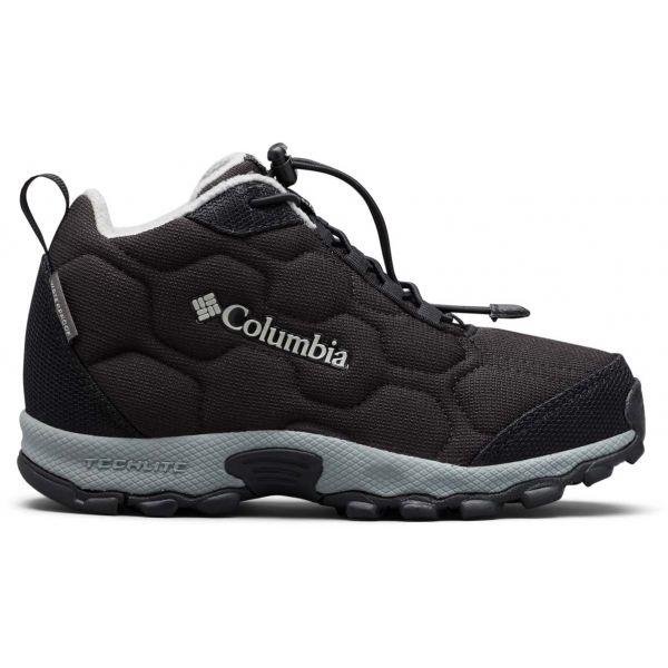 E-shop Columbia CHILDRENS FIRECAMP MID 2 WP černá 11 - Dětské trekingové boty
