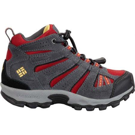 Детски туристически обувки - Columbia CHILDREN NORTH PLAINS MID WP - 2