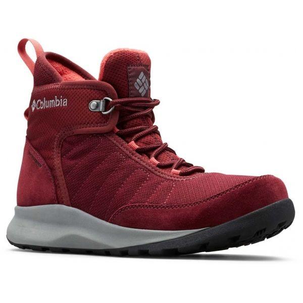 Columbia NIKISKI 503 červená 5.5 - Dámska zimná obuv