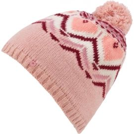 KARI TRAA SUNDVE BEANIE - Плетена шапка с помпон