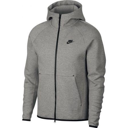 Мъжки суитшърт - Nike NSW TCH FLC HOODIE FZ - 1