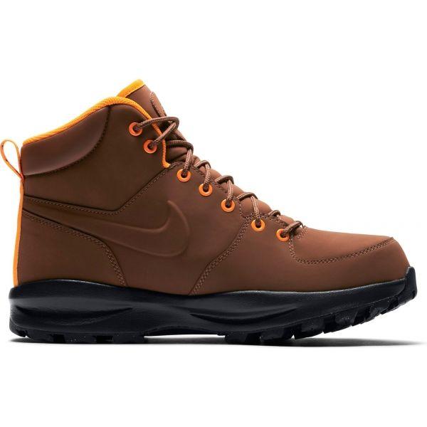 Nike MANOA LEATHER BOOT hnědá 9 - Pánská zimní obuv