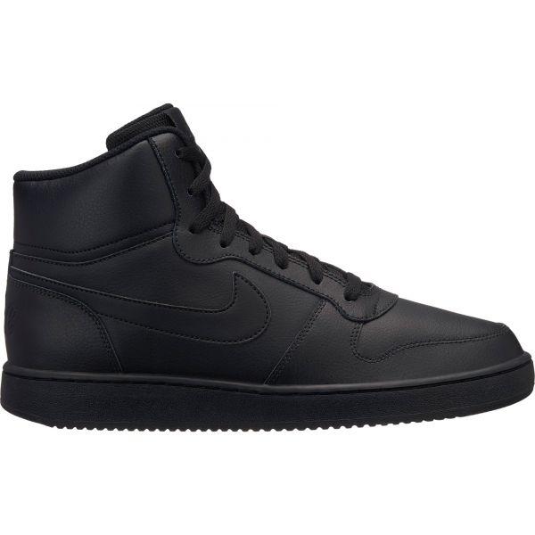 Nike EBERNON MID černá 11 - Pánská volnočasová obuv