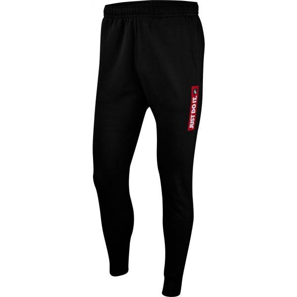 Nike NSW JDI JGGR FLC BSTR czarny M - Spodnie dresowe męskie