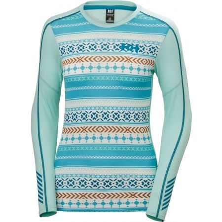 Helly Hansen LIFA ACTIVE GRAPHIC CREW - Dámske tričko s dlhým rukávom