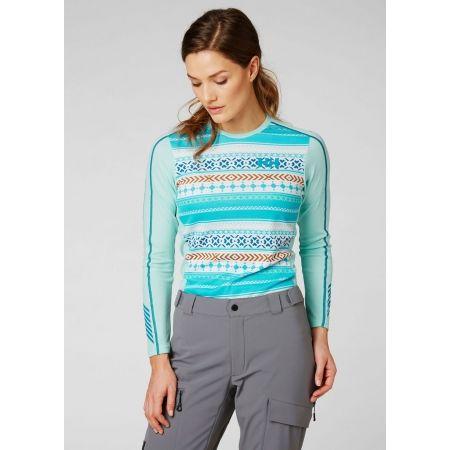 Дамска блуза с дълъг ръкав - Helly Hansen LIFA ACTIVE GRAPHIC CREW - 3