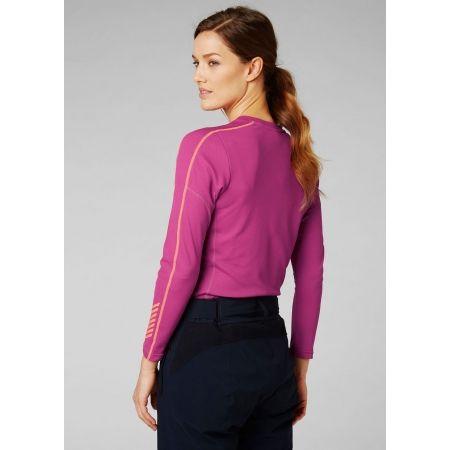 Dámske tričko s dlhým rukávom - Helly Hansen LIFA ACTIVE GRAPHIC CREW - 4