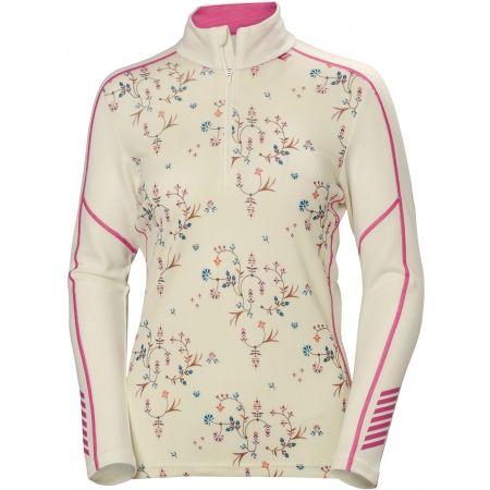 Дамска блуза - Helly Hansen LIFA MERINO GRAPHIC 1/2 ZIP - 1