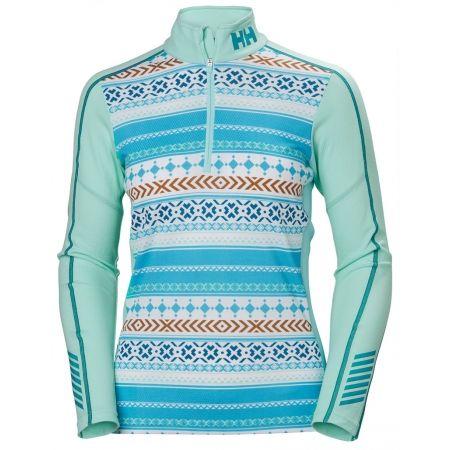 Дамска функционална блуза - Helly Hansen LIFA ACTIVE GRAPHIC 1/2 ZIP - 1