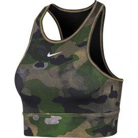Nike EVERYTHING CAMO BRA - Sportovní podprsenka