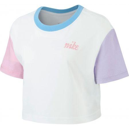 Дамска тениска - Nike NSW TEE FEMME 2 CROP - 1