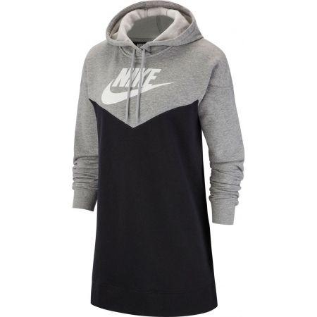 Sukienka damska - Nike NSW HRTG HOODIE DRESS SB - 1