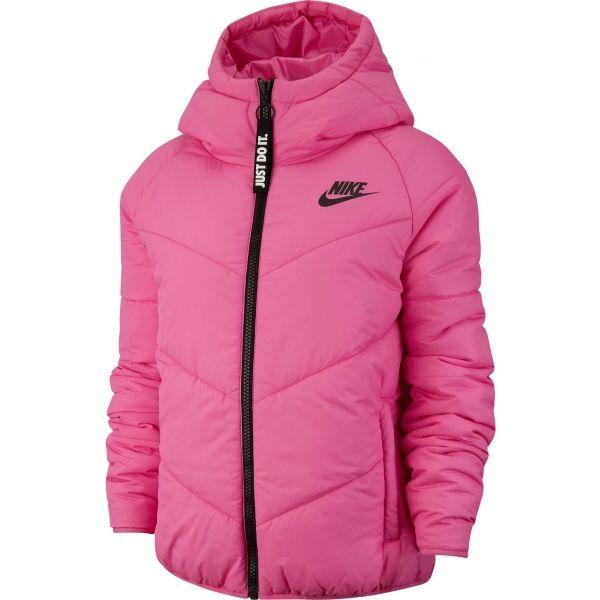 Nike NSW WR SYN FILL JKT HD ružová S - Dámska bunda