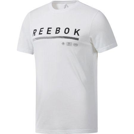 Reebok GS ICONS TEE - Pánské triko
