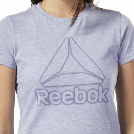Tricou damă - Reebok TE MARBLE LOGO TEE - 6
