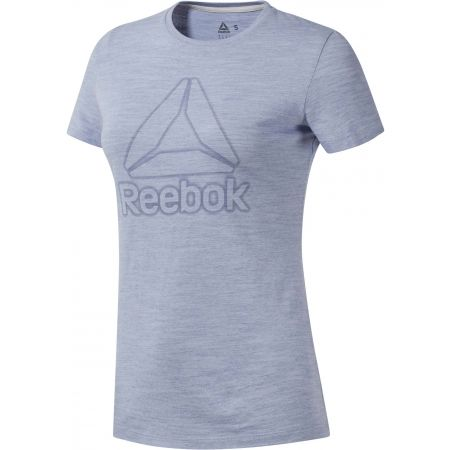 Tricou damă - Reebok TE MARBLE LOGO TEE - 1