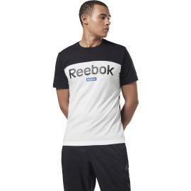 Reebok TE BL SS TEE - Pánske tričko