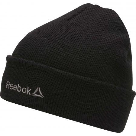 Pánska zimná čiapka - Reebok FOUNDATION LOGO BEANIE - 1