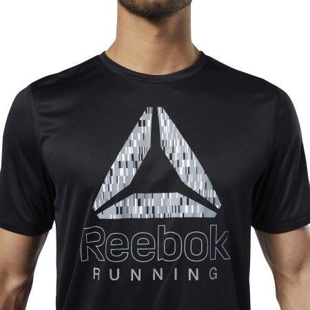 Pánske bežecké tričko - Reebok RUNNING ESSENTIALS GRAPHIC TEE - 6