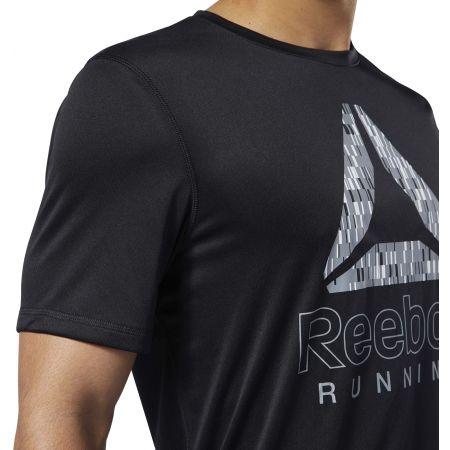 Pánske bežecké tričko - Reebok RUNNING ESSENTIALS GRAPHIC TEE - 7