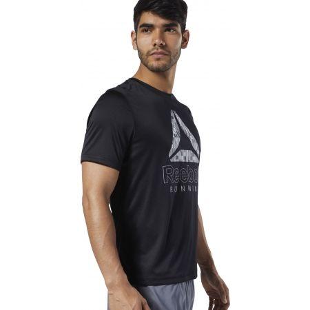 Pánske bežecké tričko - Reebok RUNNING ESSENTIALS GRAPHIC TEE - 4