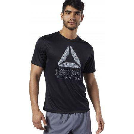 Pánske bežecké tričko - Reebok RUNNING ESSENTIALS GRAPHIC TEE - 3