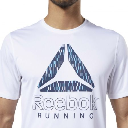 Pánské běžecké tričko - Reebok RUNNING ESSENTIALS GRAPHIC TEE - 6