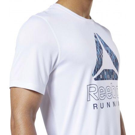 Pánské běžecké tričko - Reebok RUNNING ESSENTIALS GRAPHIC TEE - 7