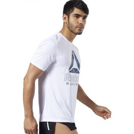Pánské běžecké tričko - Reebok RUNNING ESSENTIALS GRAPHIC TEE - 4