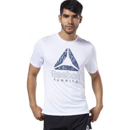 Pánské běžecké tričko - Reebok RUNNING ESSENTIALS GRAPHIC TEE - 3