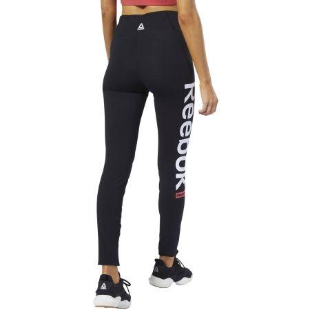 Women's tights - Reebok LINEAR LOGO TIGHTS CTN - 5