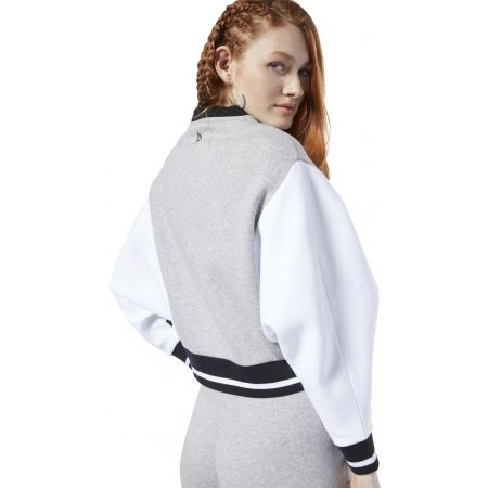 Women's sports jacket - Reebok COLOR BLOCKED TRACKSUIT TOP - 6